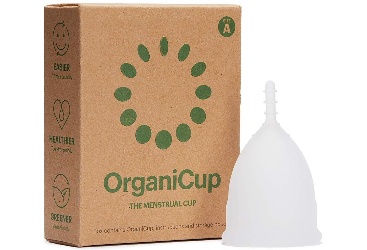 Copa menstrual Organicup | La copa menstrual ecológica más vendida y premiada